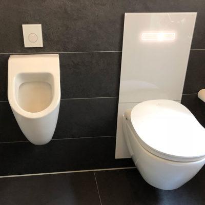 urinal und wc männerbad